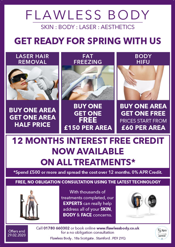 Flawless Body Stamford | Special Offers